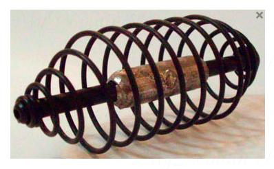 Кормушка Спираль 45гр