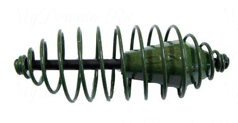 "Кормушка Спираль (полимер, цв. ""зелен. болото"") 40гр"