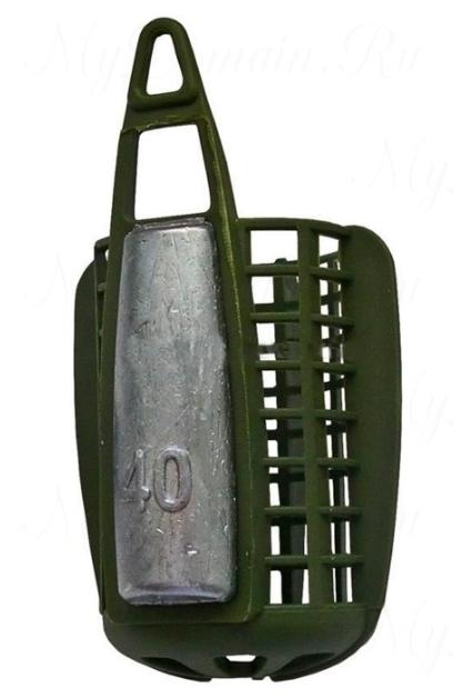 Кормушка фидерная AQUATECH большая (с дном) 20 гр