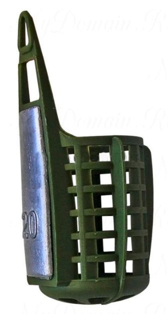 Кормушка фидерная AQUATECH малая (с дном) 80 гр