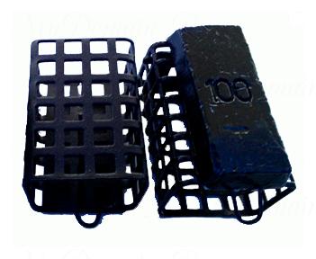 Кормушка фидерная с пластиковым дном (Курск) 20гр