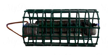 Кормушка цилиндр (обжимной груз) оцинкованная (Н.Н.) 50гр