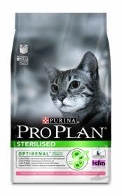 Сухой корм ПРО ПЛАН для стерилизованных котов и кошек, лосось с тунцом, 3 кг