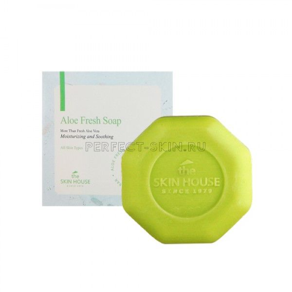 The Skin House Aloe Fresh Soap - Мыло с экстрактом алоэ
