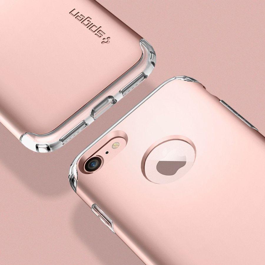 Чехол Spigen Hybrid Armor для iPhone 8 розовое золото