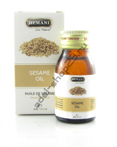 Hemani - Масло кунжут , 30 мл