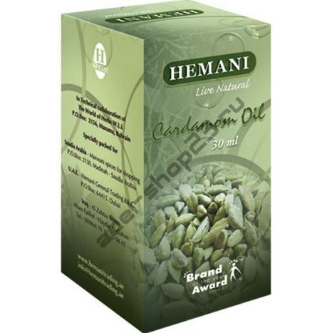 Hemani - Масло кардамон, 30 мл