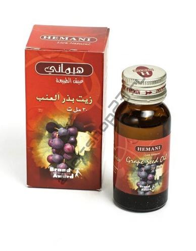Hemani - Масло виноградной косточки, 30 мл