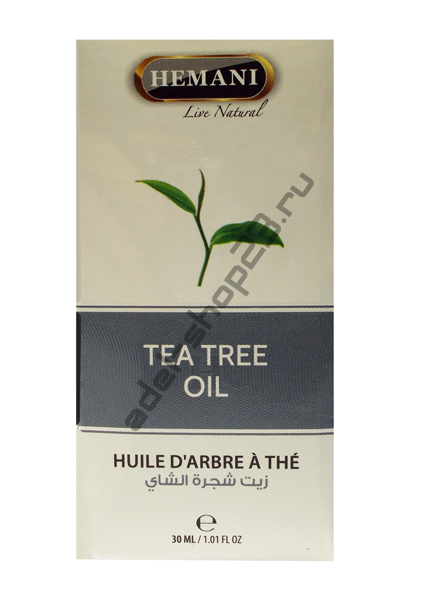 Hemani - Масло чайного дерева 30 мл
