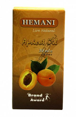 Hemani - Масло абрикоса, 30 мл