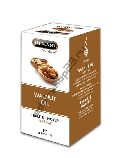 Hemani - Масло грецкого ореха, 30 мл.