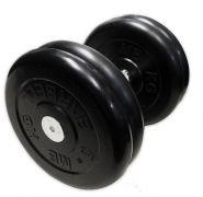 Гантель неразборная черная 23,5 кг MB Barbell MB-FdbM-B23,5