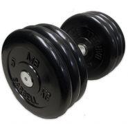 Гантель неразборная черная 31 кг MB Barbell MB-FdbM-B31