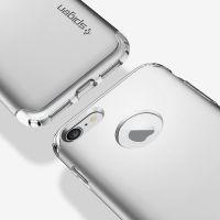 Чехол Spigen Hybrid Armor для iPhone 8 серебристый