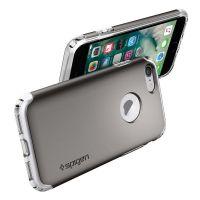 Чехол Spigen Hybrid Armor для iPhone 8 темный металлик