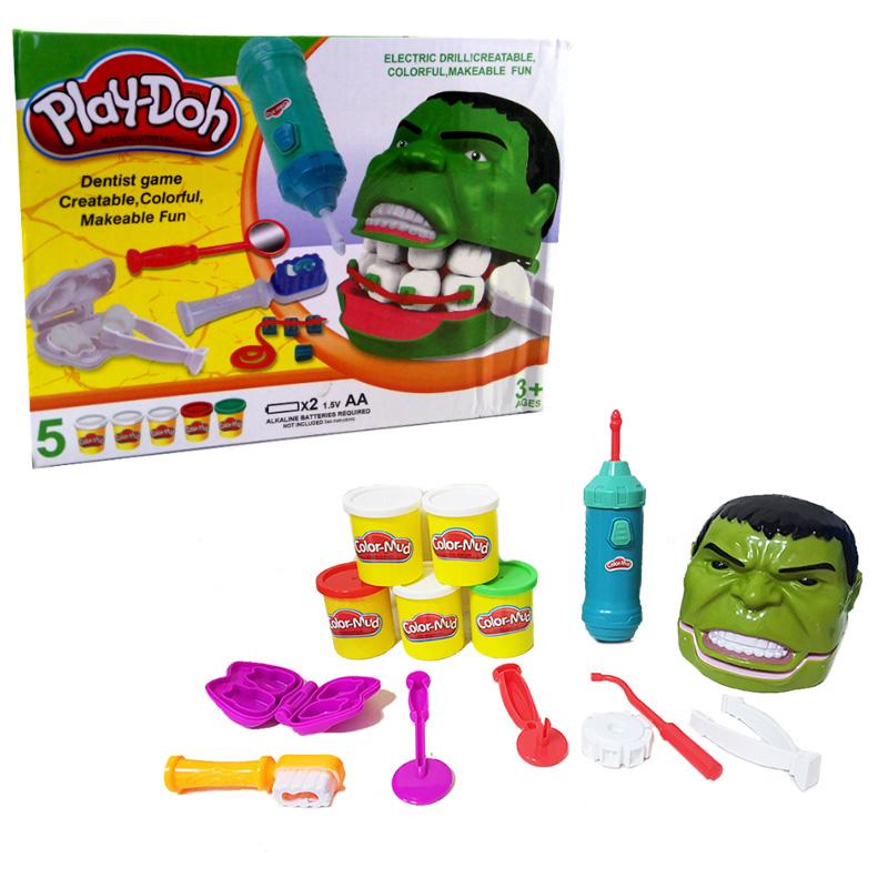 Набор для лепки из пластилина Play-Doh - Мистер Зубастик Халк