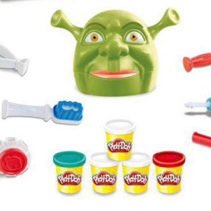 Набор для лепки из пластилина Play-Doh Мистер Зубастик Шрек