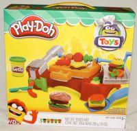 Игровой набор пластилина гриль и барбекю Play Doh купить в москве
