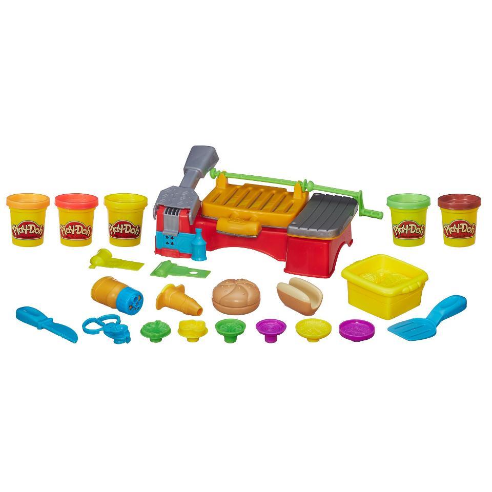 Игровой набор пластилина гриль и барбекю Play Doh купить