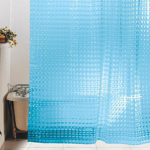 3D-штора для ванной.