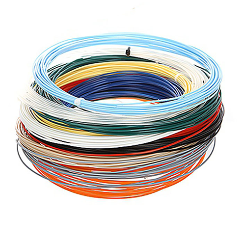 Набор пластика для 3D ручки, 8 цветов по 5 м.