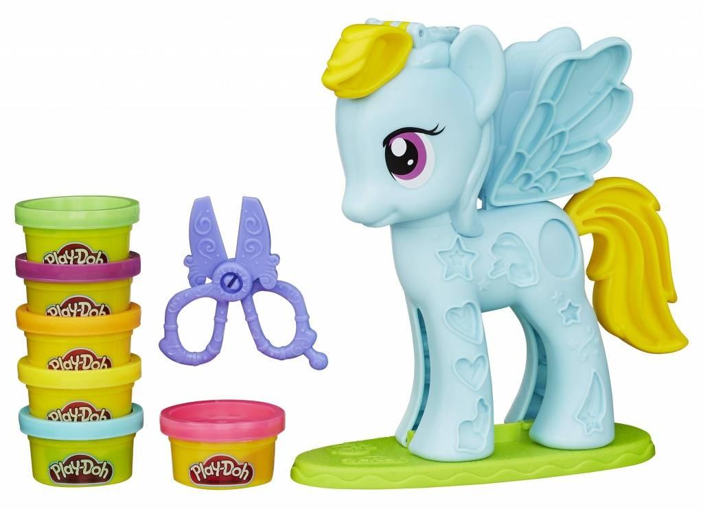 Игровой набор Hasbro PLAY-DOH Стильный салон Рэйнбоу Дэш купить недорого