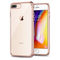 Чехол Spigen Ultra Hybrid 2 для iPhone 7 Plus кристально-розовый