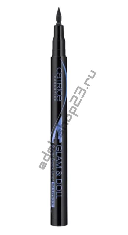 Catrice - Подводка для глаз Glam & Doll Super Black Liner Waterproof