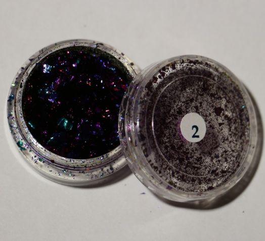 Мелкодисперсный пигмент Сhameleon flake 2  фиолет