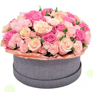 Цветы в шляпной коробке №2