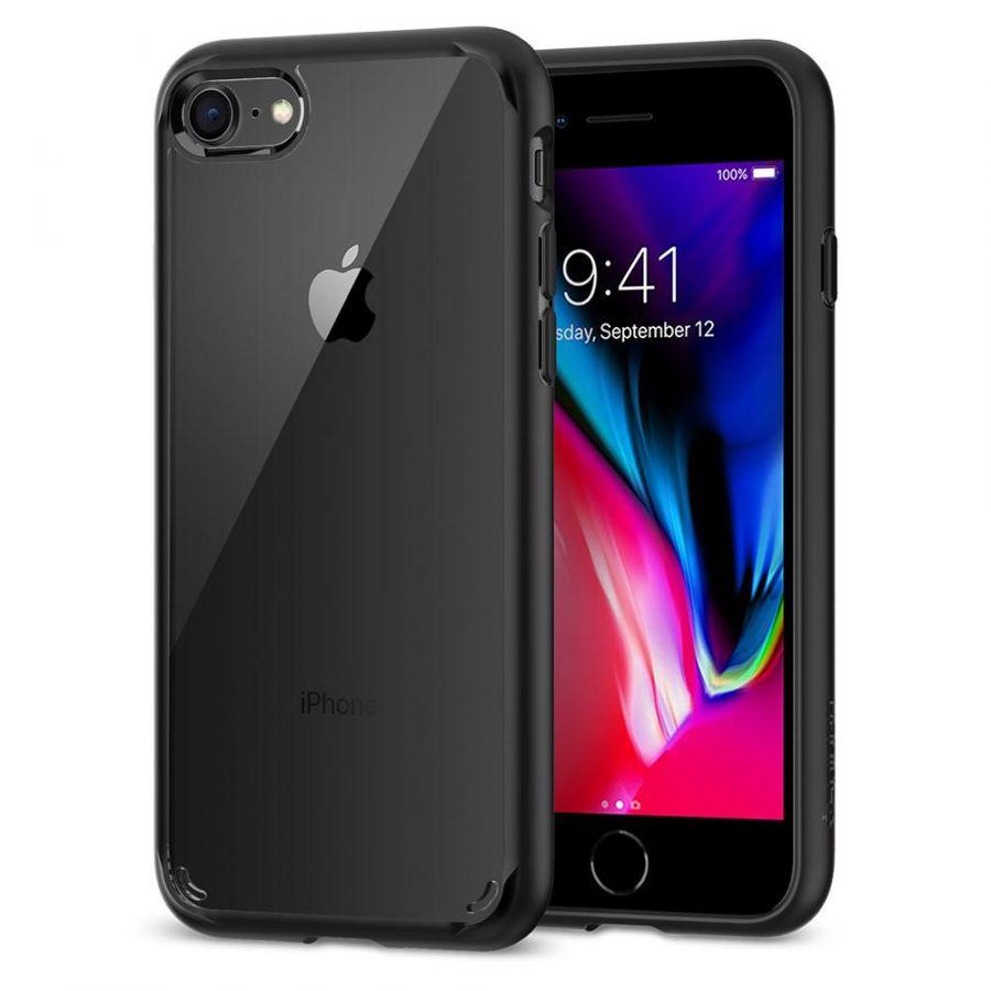 Чехол Spigen Ultra Hybrid для iPhone 8 черный
