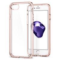 Чехол Spigen Ultra Hybrid 2 для iPhone 8 кристально-розовый