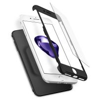 Чехол Spigen Thin Fit 360 для iPhone 8 Plus черный