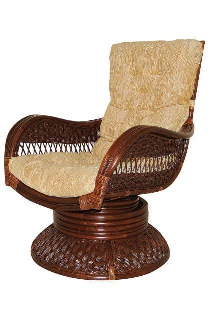 Кресло-качалка из ротанга «Андреа релакс медиум» (Andrea ) + Подушка