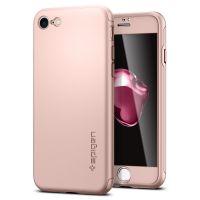 Чехол Spigen Thin Fit 360 для iPhone 7 розовое золото