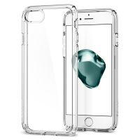 Чехол Spigen Ultra Hybrid 2 для iPhone 7 кристально-прозрачный