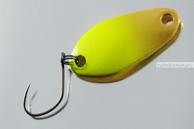 Блесна колеблющаяся Silver Bream MS Buggy 3,6гр/ цвет 441