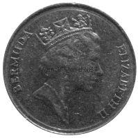 Бермудские острова 25 центов