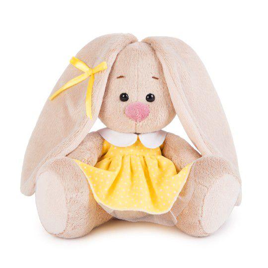 Зайка Ми в желтом платье в горошек малыш SidX-211
