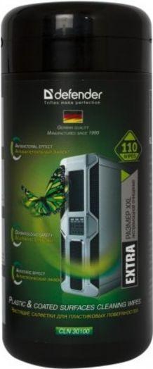 Салфетки для поверхностей Defender CLN 30100 Pro 110 шт,туба,термобонд
