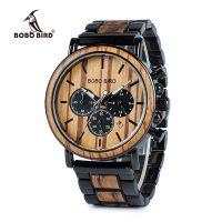 Деревянные часы BOBO BIRD