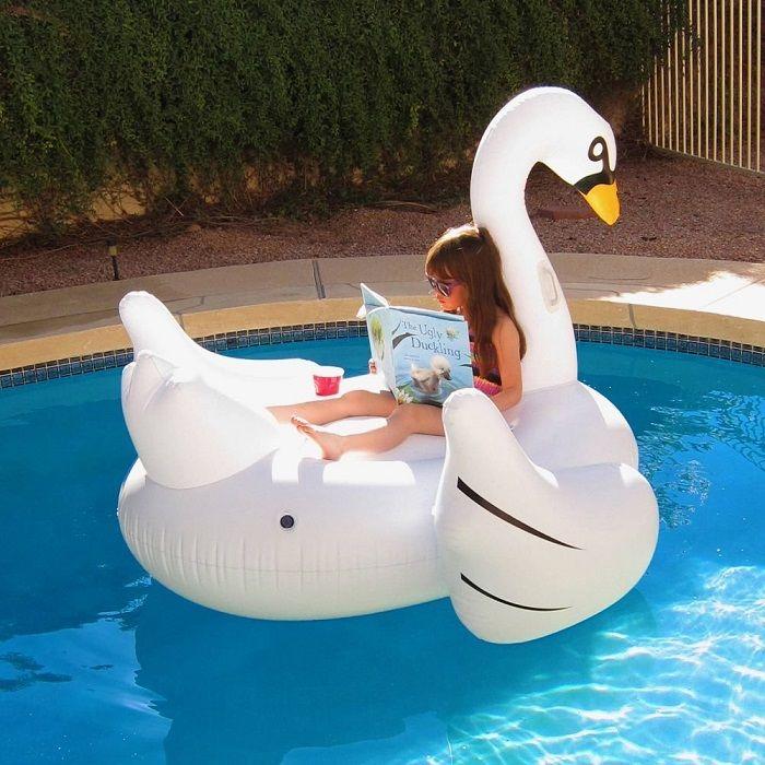 """Надувной плот """"Белый лебедь"""" (размер: 190*175*115 см)"""