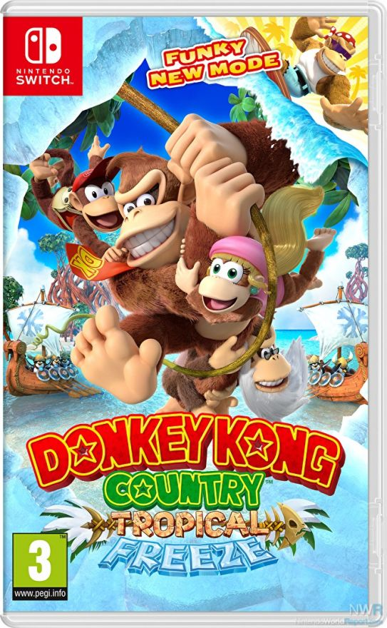 Игра Donkey Kong Country : Tropical Freeze (Nintendo Switch)