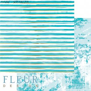 """Лист бумаги  """"Жизнь в цветах"""", коллекция """"Pretty tiffany"""", 30,5х30,5 см"""