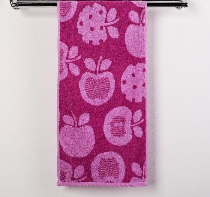 Полотенце махровое Яблочки