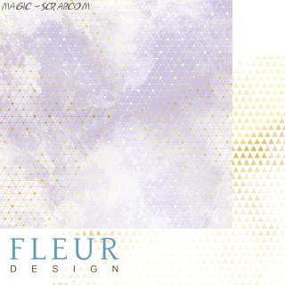 """Лист бумаги """"Туман будущего"""", коллекция """"Pretty violet"""", 30,5х30,5"""