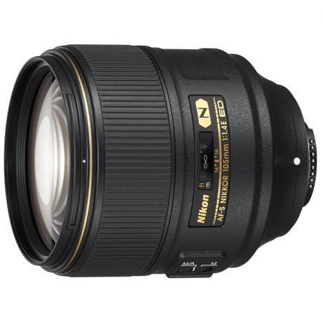 Объективы Nikon AF-S NIKKOR 105mm f/1.4E ED