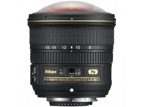 Объектив Nikon 8-15mm f/3.5-4.5E ED AF-S Fisheye Nikkor