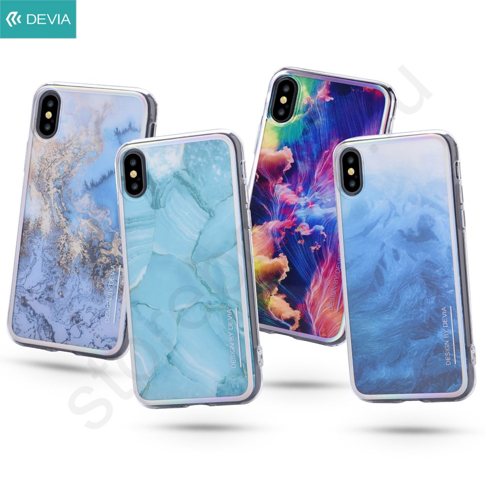 Чехол для Iphone X Devia Landscape