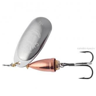 Купить Блесна Chimera SRV 2500 вращалка-акустик №2/ 6гр / цвет: SLCU